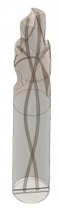 Kühlkanäle Spiralbohre
